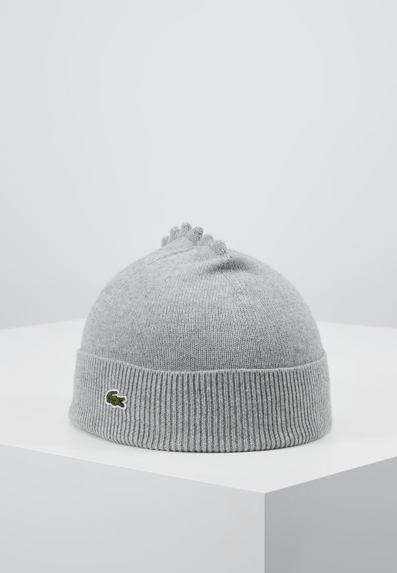 Lacoste - GIFTBOX - Beanie - argent chine