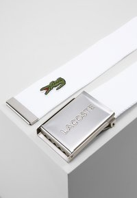 Lacoste - 40 WOVEN STRAP IN KIT RC2012 - Belt - white - 2