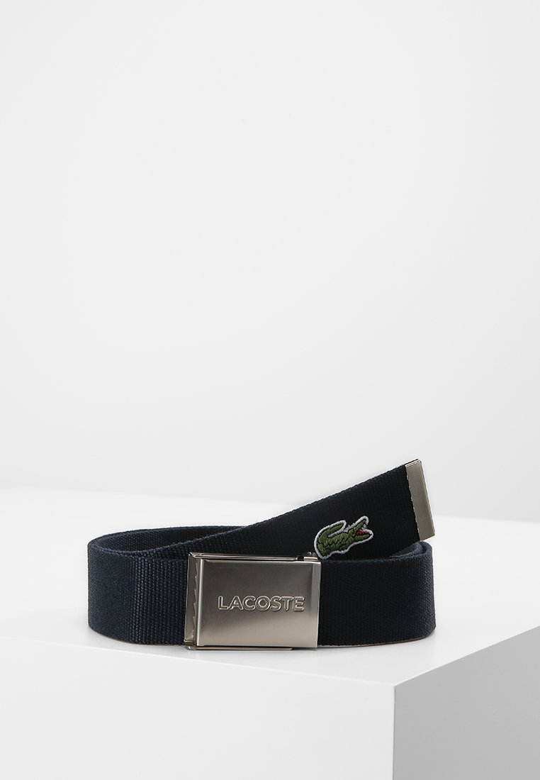 Lacoste - BELT - Ceinture - navy blue