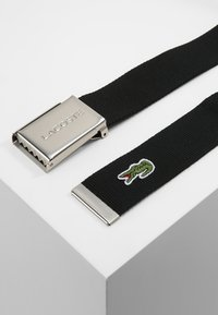 Lacoste - 40 WOVEN STRAP IN KIT RC2012 - Pásek - black - 2