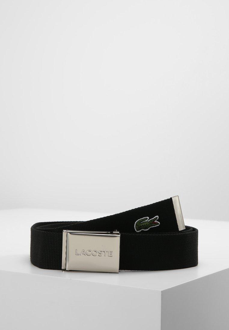 Lacoste - 40 WOVEN STRAP IN KIT RC2012 - Belt - black