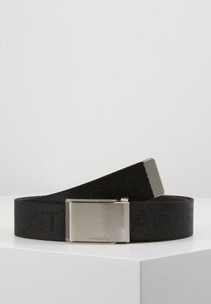 LOGO WEBBING BELT RC4019 - Belt - black