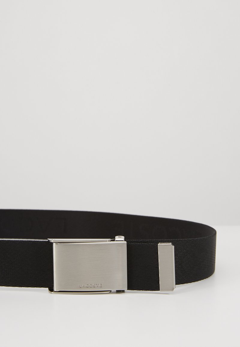 Lacoste - LOGO WEBBING BELT RC4019 - Belt - black