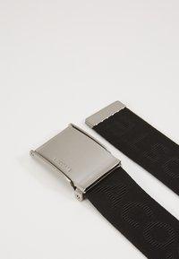 Lacoste - LOGO WEBBING BELT RC4019 - Belt - black - 2