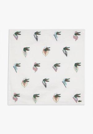 LACOSTE X JEAN-MICHEL TIXIER CROC BANDANA HEADBAND - Šátek - white/multico