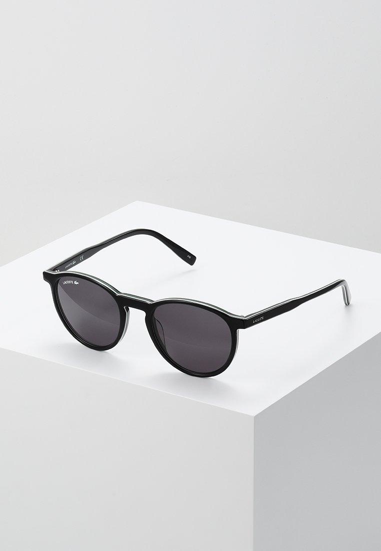 Lacoste - Sunglasses - black/white/green