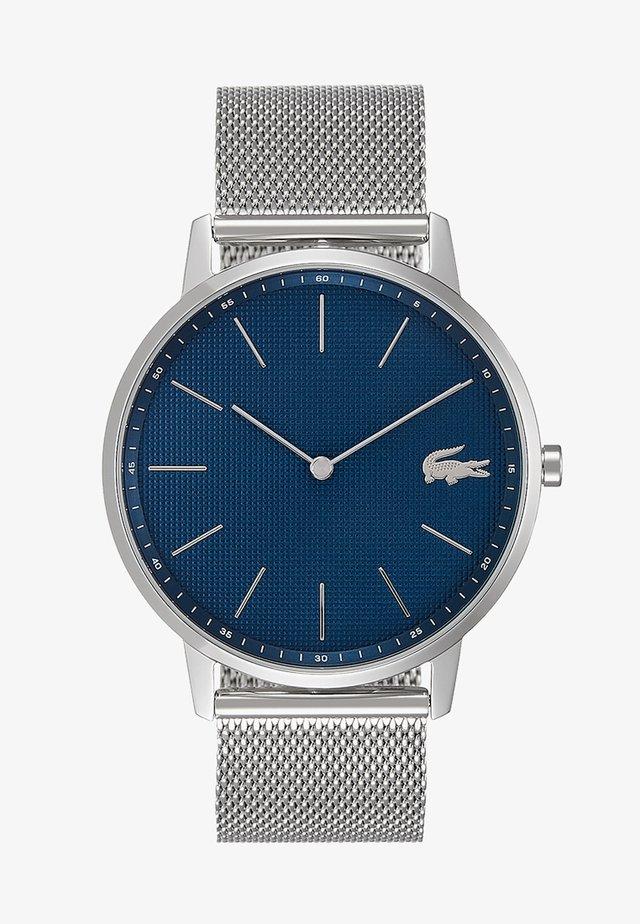 MOON - Reloj - silver-coloured/blue