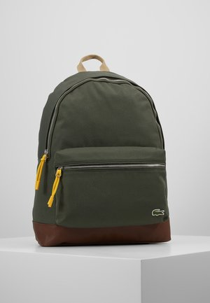 BACKPACK - Rugzak - forest night/monk's robe/cornstalk mineral yellow