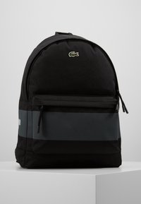 Lacoste - BACKPACK - Ryggsäck - black - 0