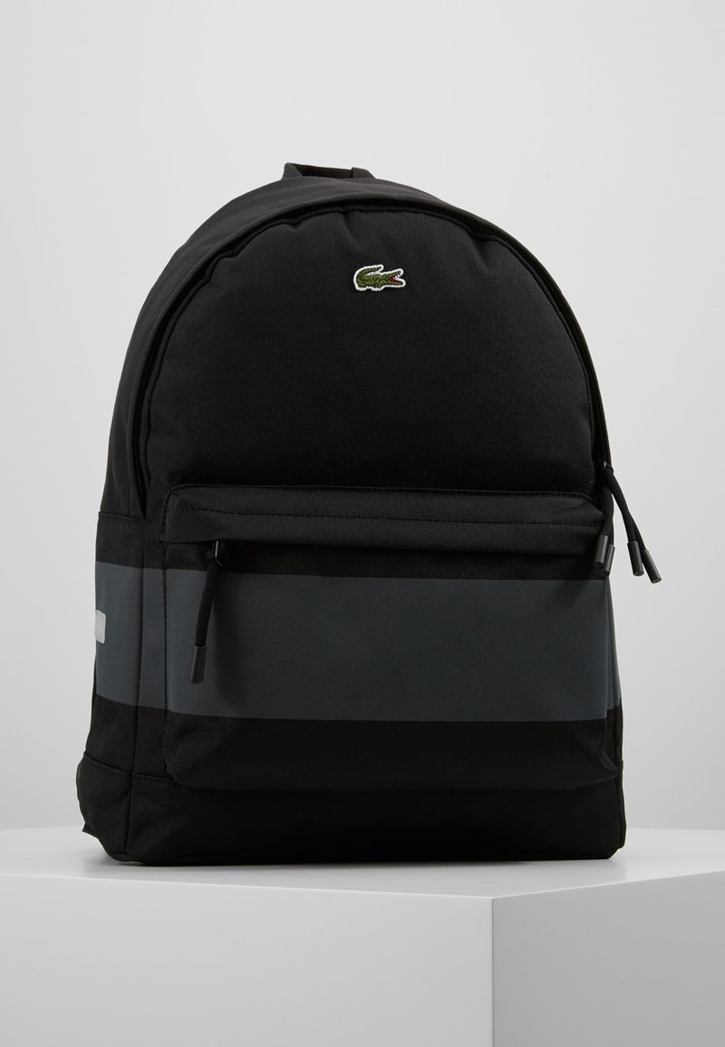 Lacoste - BACKPACK - Ryggsäck - black