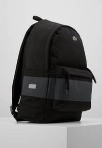 Lacoste - BACKPACK - Ryggsäck - black - 4