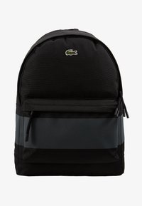 Lacoste - BACKPACK - Ryggsäck - black - 1