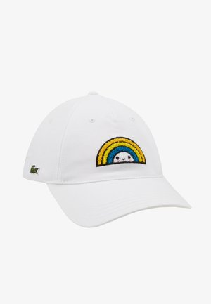 Lacoste x FriendsWithYou Cotton Print Cap - Cap - white