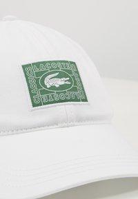 Lacoste - Cap - white - 2