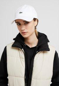 Lacoste - CAP - Cappellino - blanc - 4