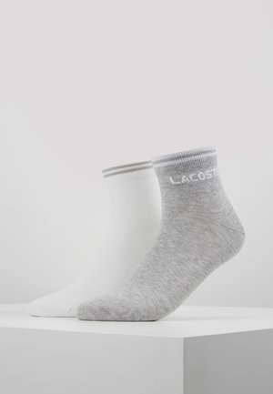 2 PACK - Chaussettes - silver chine/white