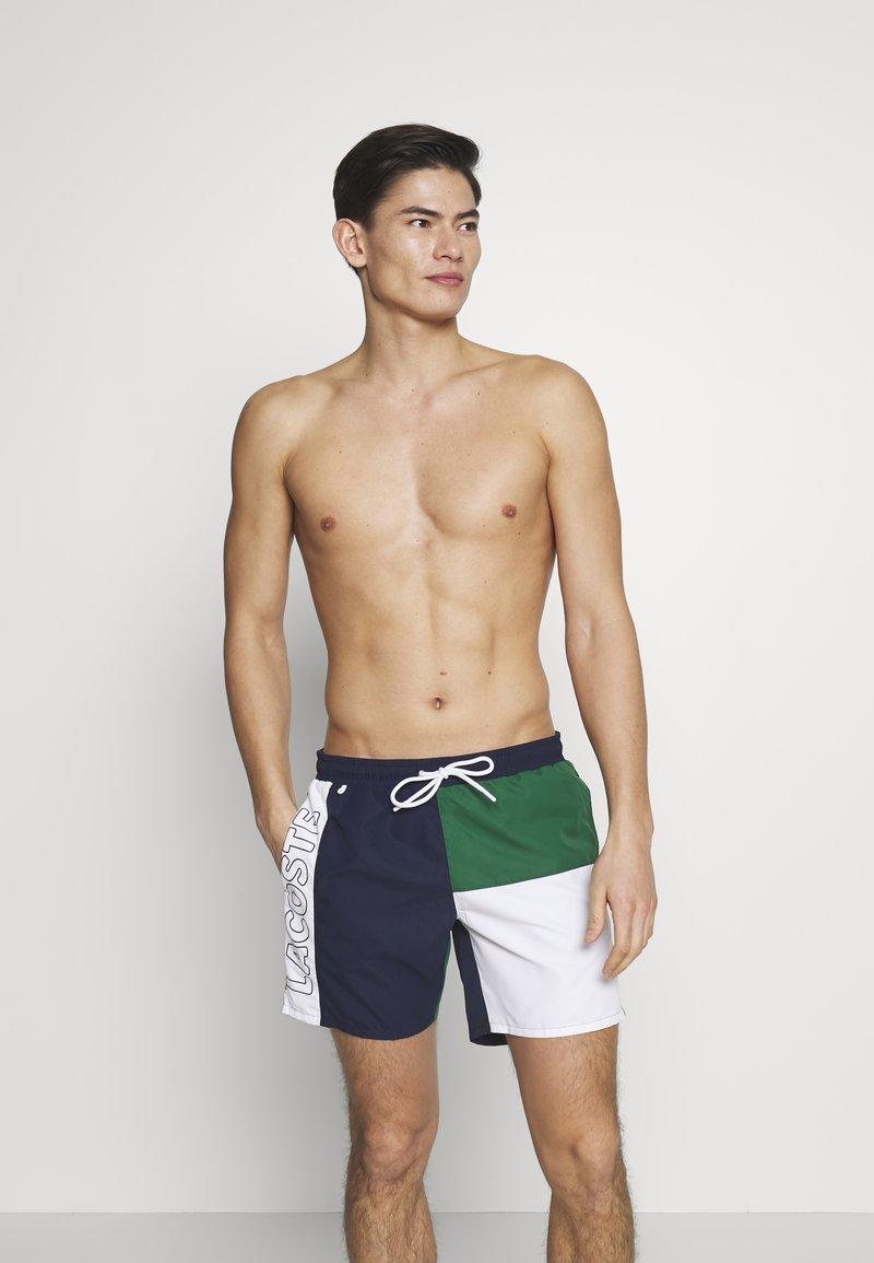 Lacoste - MH6276-00 - Swimming shorts - marine/blanc