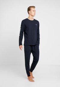 Lacoste - JOGGER - Pantalón de pijama - dark blue - 1