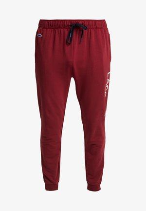 JOGGER - Pyjamahousut/-shortsit - burgundy