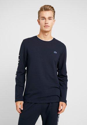 LONG SLEEVE CREWNECK - Nachtwäsche Shirt - nachtblau