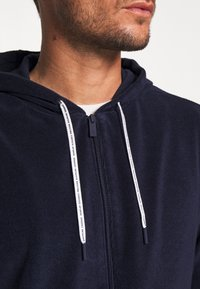 Lacoste - Zip-up hoodie - navy blue - 5