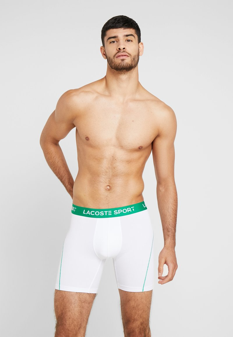 Lacoste - 2 PACK - Pants - green/white