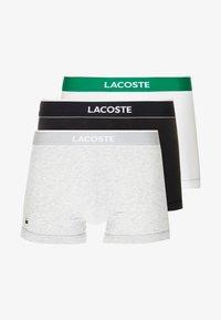 Lacoste - TRUNK 3 PACK - Culotte - black/white/grey - 3