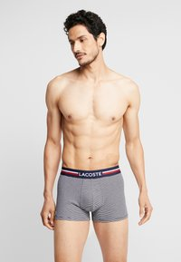 Lacoste - 3 PACK - Shorty - navy blue/white - 1