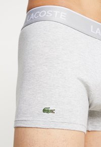 Lacoste - 3 PACK - Boxerky - black/white/silver chine - 4