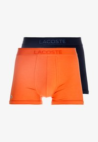 Lacoste - TRUNK 2 PACK - Shorty - orange/blue - 3