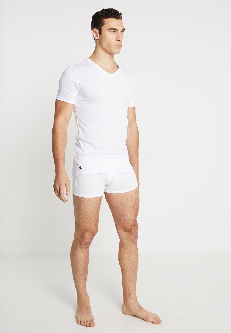 Lacoste - 3 PACK SLIM FIT TEE  - Unterhemd/-shirt - weiss