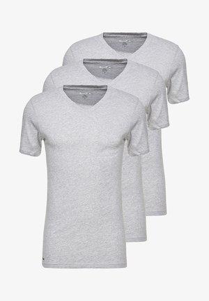 3 PACK SLIM FIT TEE  - Camiseta interior - mottled grey