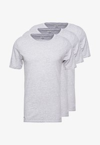 Lacoste - SLIM FIT TEE 3 PACK - Camiseta interior - grau meliert - 3
