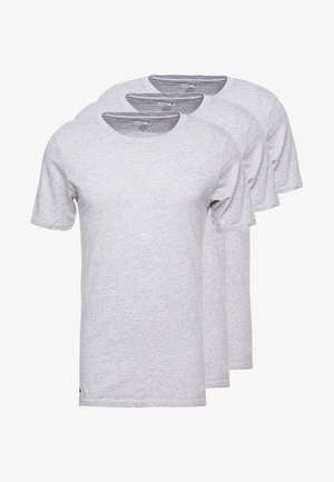 SLIM FIT TEE 3 PACK - Camiseta interior - grau meliert