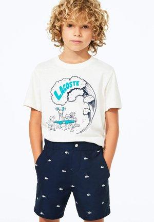 Swimming shorts - bleu marine / blanc