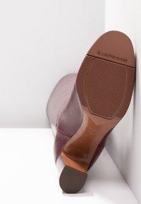 L'Autre Chose - Stivali sopra il ginocchio - bordeaux - 6