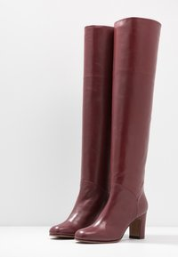 L'Autre Chose - Over-the-knee boots - bordeaux - 4