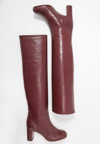 L'Autre Chose - Over-the-knee boots - bordeaux - 3