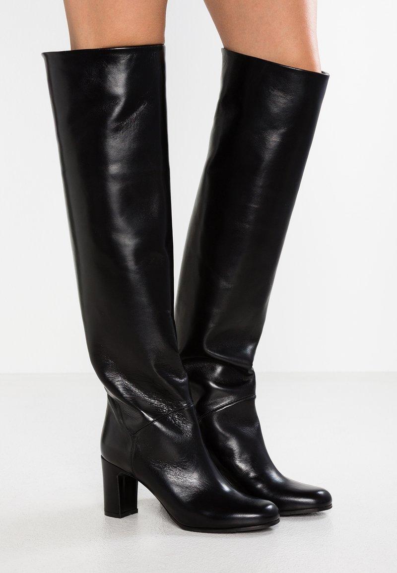 L'Autre Chose - Over-the-knee boots - black
