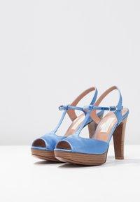 L'Autre Chose - High heeled sandals - deep blue - 4