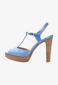 L'Autre Chose - High heeled sandals - deep blue - 1