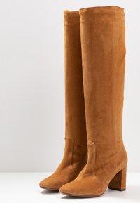 L'Autre Chose - Boots - cigar - 4