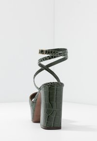 L'Autre Chose - High heeled sandals - sage - 5