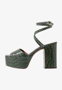 L'Autre Chose - High heeled sandals - sage - 1
