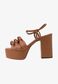 L'Autre Chose - High heeled sandals - tan - 1