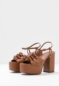 L'Autre Chose - High heeled sandals - tan - 4