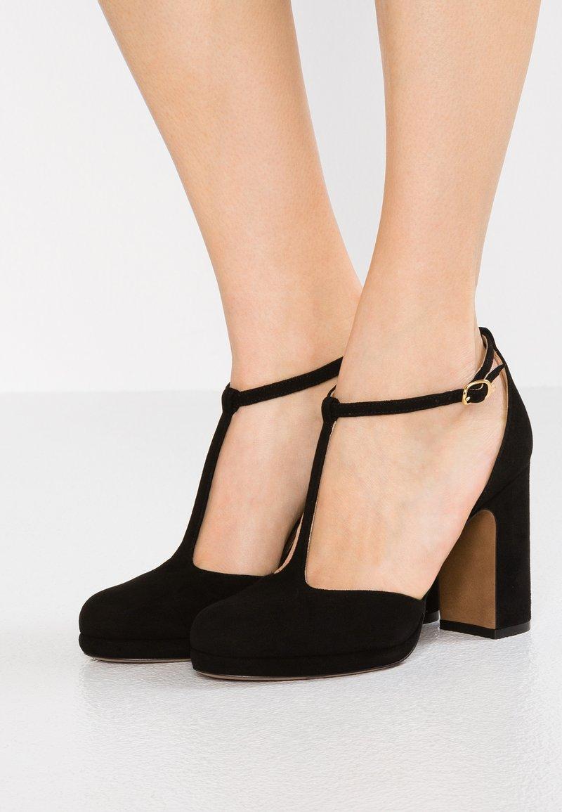 L'Autre Chose - Zapatos altos - black