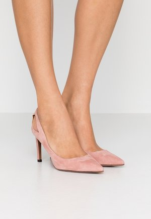 High heels - rosa antico