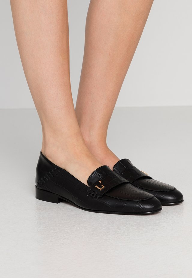 LOAFER - Loaferit/pistokkaat - black