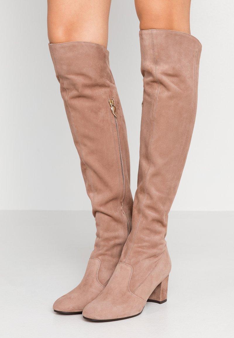L'Autre Chose - Over-the-knee boots - nude
